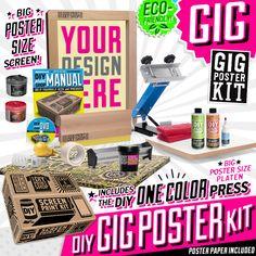 DIY Gig Poster Kit