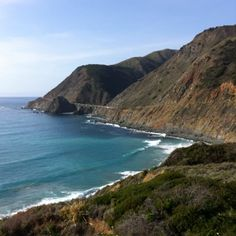 Big Sur, Cali.... Such views!  Done it!