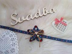 Výroba svadobných pierok a doplnkov na Váš svadobný deň - waidy / SAShE.sk Clothes Hanger, Folk, Band, Accessories, Coat Hanger, Sash, Popular, Clothes Hangers, Forks
