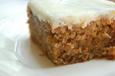 Just made me some  carrot cake with cream cheese frosting! cant wait to eat it!!