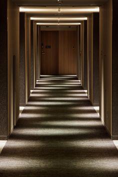 Coridor Design, Facade Design, Design Studio, House Design, Hotel Corridor, Corridor Lighting, Ceiling Light Design, Lighting Design, Spa Interior