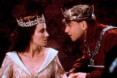 Emma Thompson and Kenneth Brannagh and Katherine Valois and Henry V in Henry V