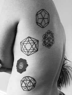 dodecahedron, seed of life, fruit of life, cube, Icosohedron, borneo bunga terung, snub dodecahedron, snub cube, sacred geometry tattoos.