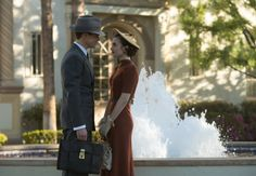 Matt Bomer as Monroe Stahr and Lily Collins as Celia Brady in 'The Last Tycoon.' Photo: Sony Pictures Television/Amazon, Photo Credit: Adam Rose