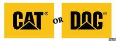 Cat or Dog #Logo #Détournement