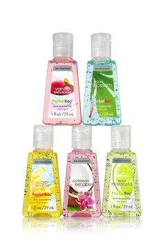 Bath and Body Works antibacterial hand sanitizer