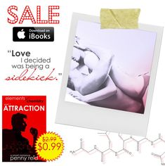 OMG! WTF? BBQ?!??? ATTRACTION was named one of iBooks Bestselling Romances! :-O You can read it for just 99¢ this week only! If you're looking for a new book boyfriend for Valentine's Day, Martin Sandeke might just do the trick ;-) Get ready to get your geek on people.   Grab it here ---> apple.co/bestsellingromance