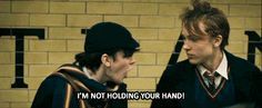 """Susan: """"Quick! Everyone hold hands!"""" Edmund: *looks at Peter* """"I'M NOT HOLDING YOUR HAND!"""" Peter: Just... *grabs Edmund's hand* - I love this part..."""