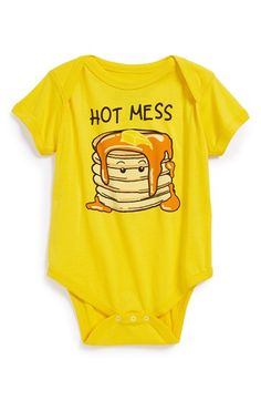 Free shipping and returns on Mighty Fine 'Hot Mess' Bodysuit (Baby) at Nordstrom.com. Your sweet little short stack is sure to charm in a soft cotton bodysuit finished with an envelope neckline for quick and easy changes.