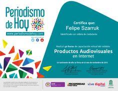 Productos Audiovisuales en Internet.
