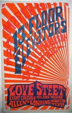 13th Floor Elevators at Houston's Love Street Light Circus, 1968.