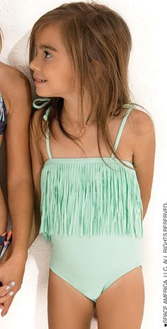 afa982df12 L Space 2014 Kid s Baby L Ashlyn Pistachio Swimsuit FR02M14 Baby L