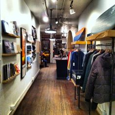 A New York must visit. Saturdays Surf is based in New York and their flagship store is lovely. The coffee shop inside provides you with caffeine while shopping.