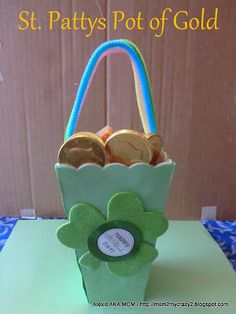 St. Patty Day ... Pot of Gold (Gift Idea)