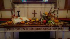 My fall centerpiece for church, Reidsville, NC