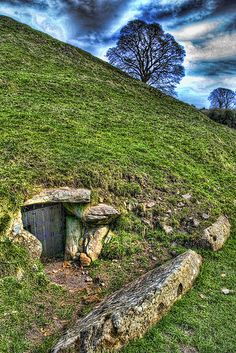Dowth - a Neolithic Passage Grave dating from over 5000 years ago - Co Meath, Ireland
