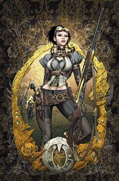 Lady Mechanika 0 Cover colors by *joebenitez on deviantART