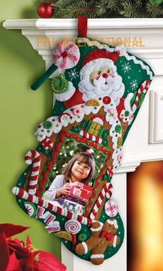 Bucilla Felt Christmas Ornament Kits - FTH Studio International