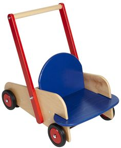 Haba: Child's Wooden Walker Wagon from Germany