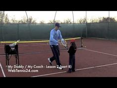 Kids Tennis Lesson (live) - part 8 - how to teach tennis to little kids (age 4 - 10) - see full lesson at WebTennis24.com