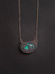 bohemian mama chrysocolla necklace. $336.00, via Etsy.