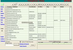 Records or Telephone Diary Index of the Address Book Software