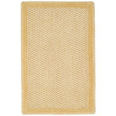 RugStudio presents Capel Millwood 67094 Pale Gold Braided Area Rug ❤ liked on Polyvore featuring home, rugs, country style area rugs, multi-colored rug, country rugs, braided area rugs and country braided area rugs