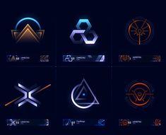 ArtStation - HALO 5 EMBLEMS, Ramiro Galan Web Design, Game Ui Design, Icon Design, Logo Design, Halo 5, Game Gui, Game Icon, Game Interface, Ui Design Inspiration