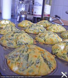 Spinat - Feta - Muffins (Rezept mit Bild) von Twinkle86 | Chefkoch.de