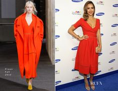 Jessica Alba In Preen - Samsung Hope For Children Gala 2014