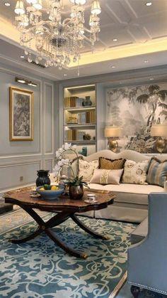 20 Home Decor Art Trending Today livingroom room interiordesign bedroom 764767580451891428 Classic Home Decor, Easy Home Decor, Classic House, Cheap Home Decor, Modern Classic Interior, Bedroom Classic, Contemporary Interior, Home Living Room, Living Room Designs