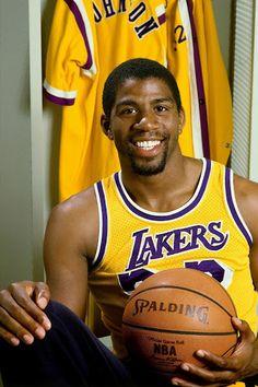 Magic Johnson-smart good business man, NBA legend.