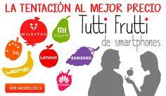 Tutti Frutti de Smartphones en globomatik