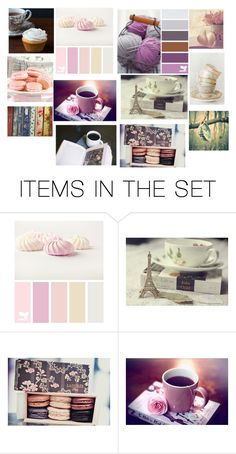 """Books and High Tea"" by xdarkgothamx ❤ liked on Polyvore featuring art"