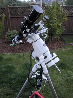 80mm Telescope Setup by Astro Steve, via Flickr