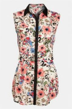 A very fashionable print in women's clothing in spring/summer 2013 trends is floral. Now, you can find almost every clothing article in floral prints; from tops, cardigans, dresses, shoes, bags, swimsuits, accessories.