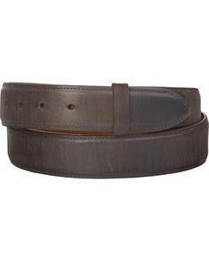 2Pack Men PU Leather Belt Strap No Buckle Reversible Belts Auto-lock Waist Belts