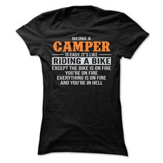 BEING A ჱ CAMPER T SHIRTSBEING A CAMPER T SHIRTS ==> Your shirt is screen printed on high quality material! ==> Dont delay! Please Order it now!CAMPER, BEING A CAMPER, BEING A CAMPER T SHIRTS, JOB, JOBS