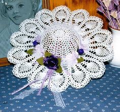 Crochet Decorative Hat Patterns - Hat of Hearts