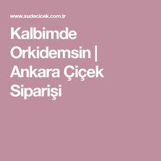 Kalbimde Orkidemsin | Ankara Çiçek Siparişi