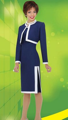 Check out the deal on Ben Marc Executive 11205 Dress with Jacket at French Novelty Women Church Suits, Suits For Women, Clothes For Women, Couture Fashion, Fashion 2017, Fashion Dresses, Street Fashion, Baby African Clothes, Corporate Attire