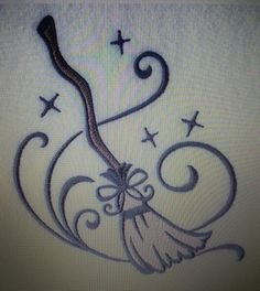 Witch Broom could be such a cute tattoo
