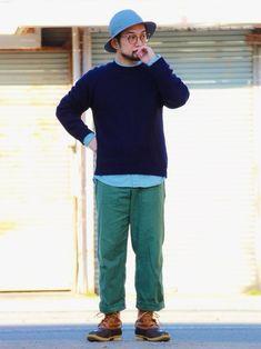 ビーンブーツでビンビンコーデ 休日に、アーバンアウトドアなスタイルしてる人を見ると、素敵だな