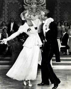"judywald:           Ginger Rogers and Fred Astaire  From the 1939 movie ""The Story of Vernon and Irene Castle"""