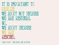 So simply and beautifully put. #adoption www.adoptlanguage.com
