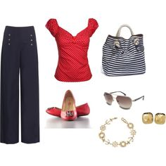 Nautical fun...would love to wear this on a cruise...Disney of course!