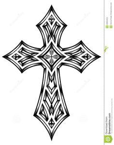 Cruz Heráldica Ilustración del Vector - Imagen: 40622424