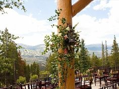 Rubywood, Breckenridge, Ceremony set with Chaivari Chairs Vail Mountain, Mountain Weddings, Colorado Wedding Venues, Wedding Locations, Breckenridge Vacation Rentals, Wedding Stuff, Wedding Ideas, Hayley Paige