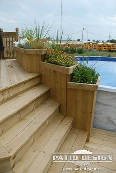 super Ideas backyard kitchen and pool retaining walls Above Ground Pool Landscaping, Above Ground Pool Decks, Backyard Pool Landscaping, Backyard Pool Designs, Swimming Pools Backyard, In Ground Pools, Patio Design, Pool Deck Plans, Patio Pergola