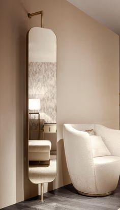 Home Room Design, Dream Home Design, Home Interior Design, Dressing Table Mirror Design, Home Decor Bedroom, Room Decor, Spiegel Design, Unique Mirrors, Unique House Design